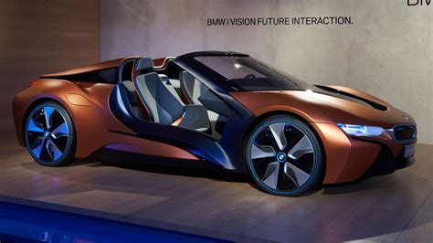 future bmw this bmw i8 concept previews the future of car electronics