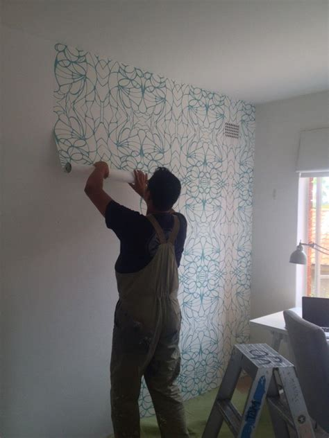 removable  vinyl wallpaper  renters proof
