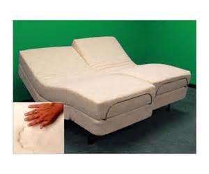 adjustable bed split queen ebay