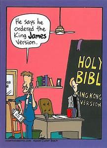 King James Version Church Humor Christian Humor