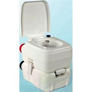 wc chimique portable compact pour caravane et cing car