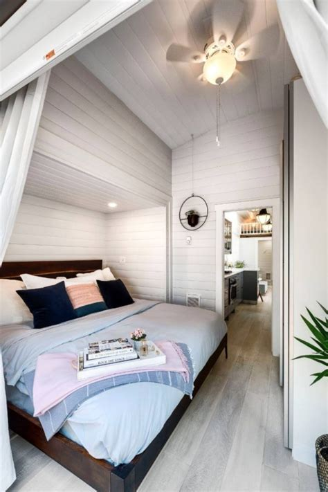 ft tiny home  dual  outs downstairs bedroom
