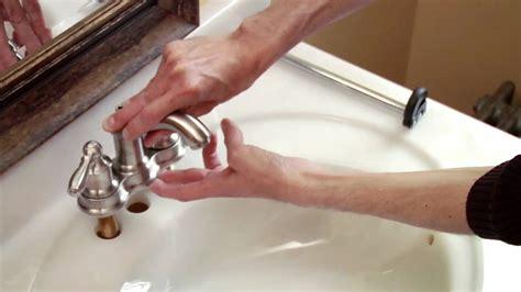 install  moen centerset faucet youtube
