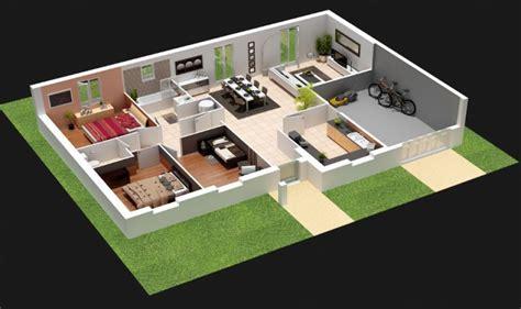 plans de maison plain pied 3 chambres 5 plans pour construire votre propre maison moderne