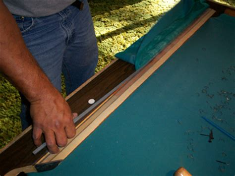 how to felt a pool table replace pool table cushions and refelt