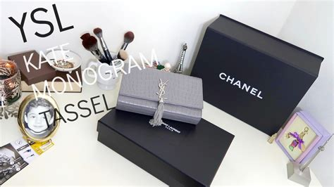 ysl kate monogram tassel bag review disappointment youtube