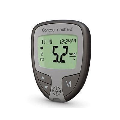 bayer contour  ez blood glucose meter