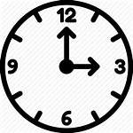 Clock Clipart Three Oclock Icon Seven Five