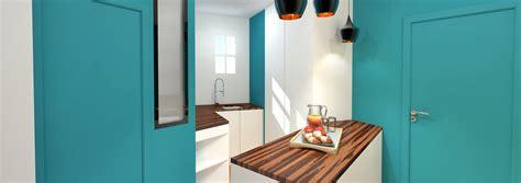 cuisine en couloir amnagement cuisine couloir amnagement de cuisine les