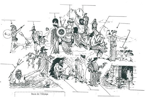 antiquite personnages  monuments la classe de touyeye