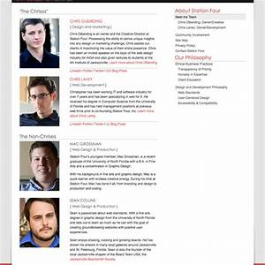 meet the team pages examples and trends smashing magazine With employee biography template