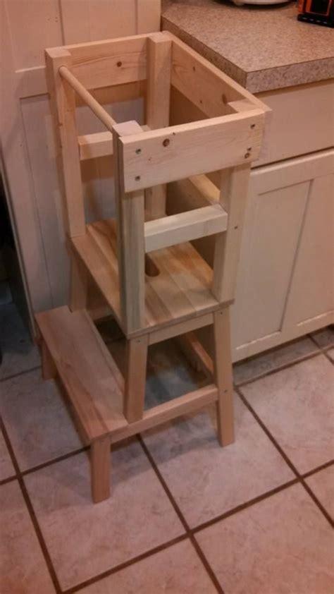 simple kitchen helper stool plans  design kitchen world