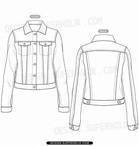 Jeans Technical Drawing Sketch Coloring Page