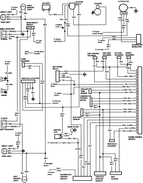 1986 Ford F150 Wiring Diagram by 1986 F150 4 9l Wiring Diagram Ford Truck Enthusiasts Forums