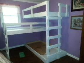 Free Plans Wood Bunk Beds by Diy Triple Bunk Bed The Owner Builder Network