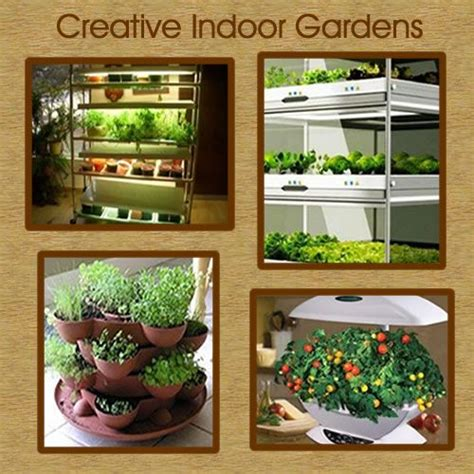indoor vegetable gardening small space garden ideas