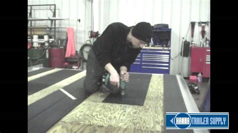 guides  snowmobile traction mat installation