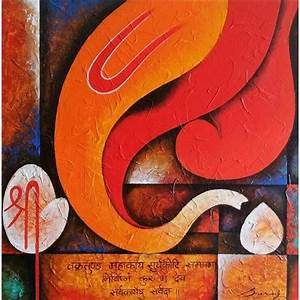abstract paintings lord ganesha - Google Search | artistic ...