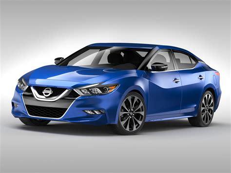 nissan car models nissan maxima 2016 3d model buy nissan maxima 2016