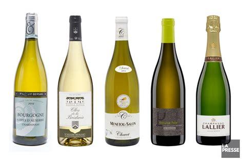 vin blanc pour cuisiner cinq vins blancs pour les huîtres jacques benoit
