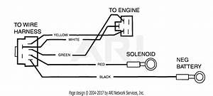 Scag Ssz-22cv  4230001-4239999  Parts Diagram For Wire Harness Adapter  N 481070