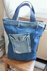 Comment Faire Un Sac : sac jean louis sherrer sac en jean fait maison comment faire un sac a main avec un vieux jean ~ Melissatoandfro.com Idées de Décoration