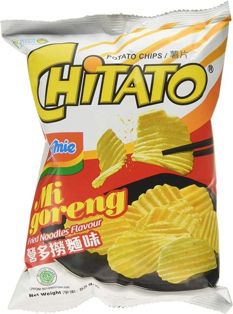 Indomie Mi Goreng Chitato Potato Crisps 55g | Approved Food