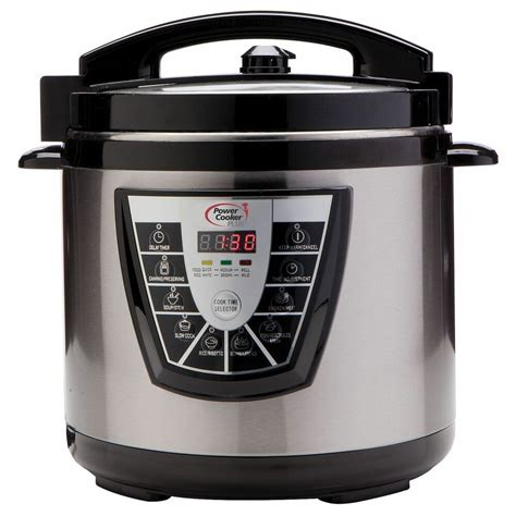 cooker pressure power xl electric canner quart stainless plus steel digital