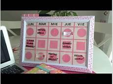 Cómo hacer un organizador semanal para la escuela