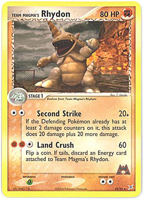pokemon card team magma team aqua  team magmas