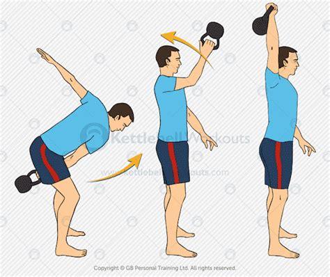 kettlebell snatch exercises exercise advanced