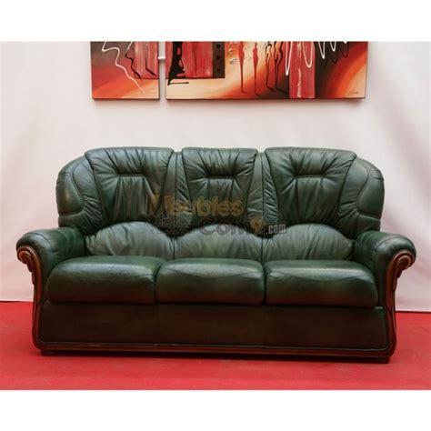 canape d angle tissus canapé cuvette cuir vert bois apparent 3 places n136