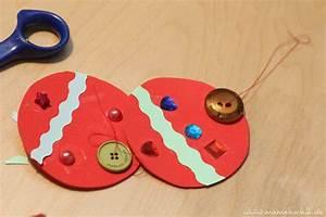 Basteln Kinder Weihnachten : montessori basteln fuer kinder weihnachten 15 mamahoch2 ~ Frokenaadalensverden.com Haus und Dekorationen