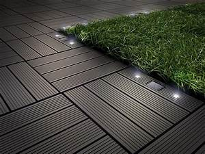 115 best diy decking simple installation outdoor decking With katzennetz balkon mit solar led garden lights