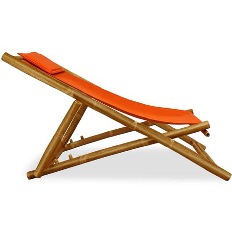 wooden folding deck chairs bamboo garden deckchair