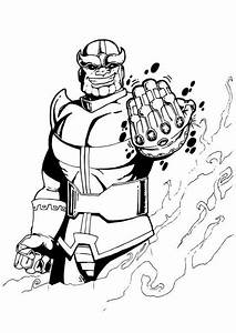 infinity coloring pages - 15 free printable thanos coloring pages
