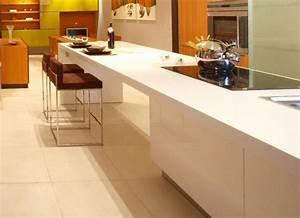 Plan De Travail Ilot : ilot de cuisine moderne avec des id es ~ Premium-room.com Idées de Décoration