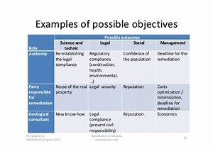 ipma 2012 managing complexity example of the remediation With manage by objective template