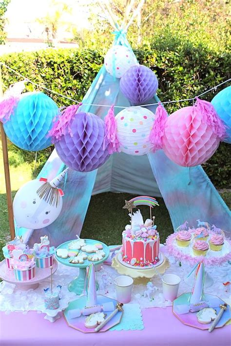 image result  outdoor unicorn party unicorn themed