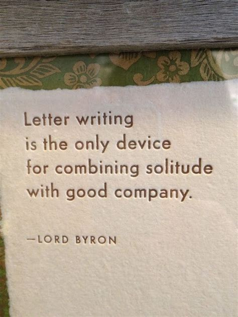 letter writing lord byron quote love letters party ideas