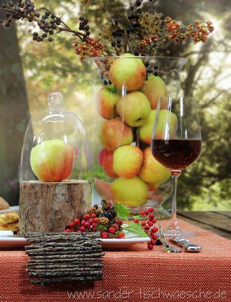 Herbst Deko Gartenparty by Tischdeko Herbst Mit 196 Pfeln Deko Herbst