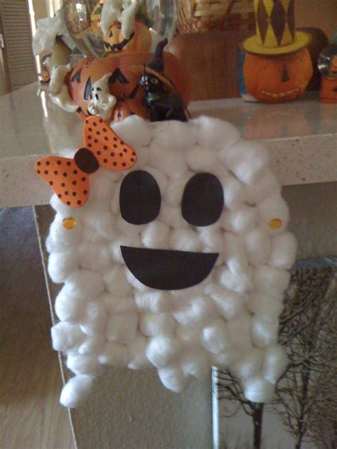 cotton ghost craft for 40 best images about crafts on 7525