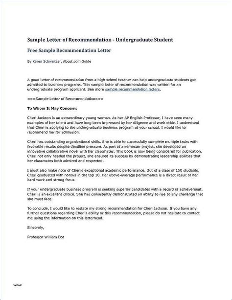 Letter To Ask For Recommendation by 9 Graduate Recommendation Letter Invoice Templatez