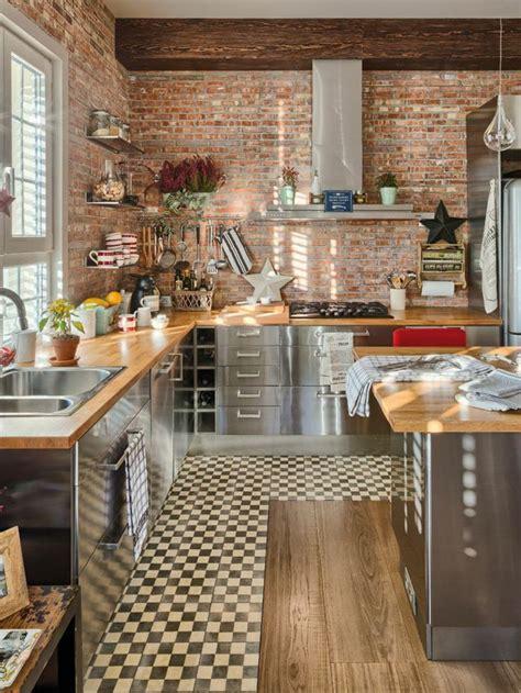 brique cuisine comment choisir la crédence de cuisine idées en 50 photos