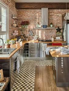 Deco Mur De Cuisine : comment choisir la cr dence de cuisine id es en 50 photos ~ Zukunftsfamilie.com Idées de Décoration