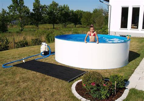 solarabsorber selber bauen planschbecken solaranalage kleine pools