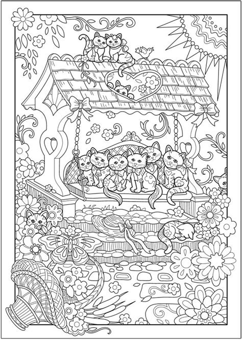 dover publications ch creative kittens