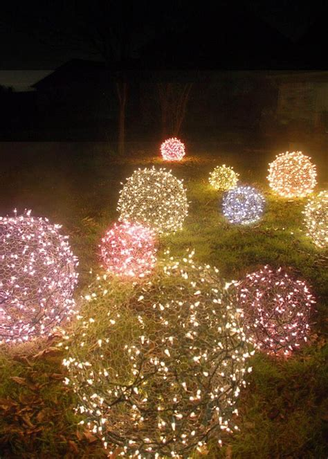 Weihnachtsdeko Für Den Garten Basteln by Weihnachtsdeko Ideen Mit Lichterketten Bunte Leuchtende