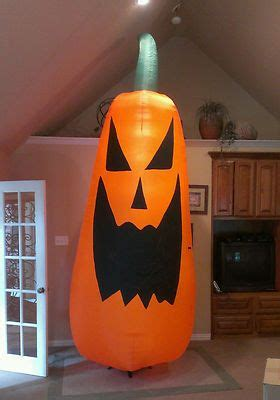 prototype gemmy pumpkin halloween inflatable airblown