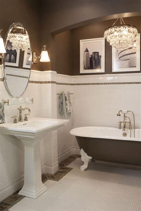 brown mosaic bathroom tiles ideas  pictures